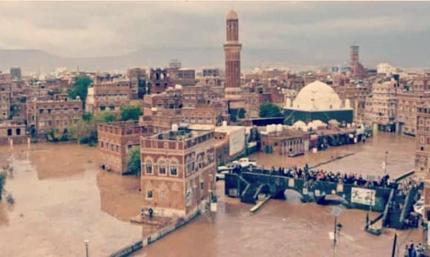 الأمطار والإهمال يلحقان أضراراً فادحة بمساجد صنعاء القديمة