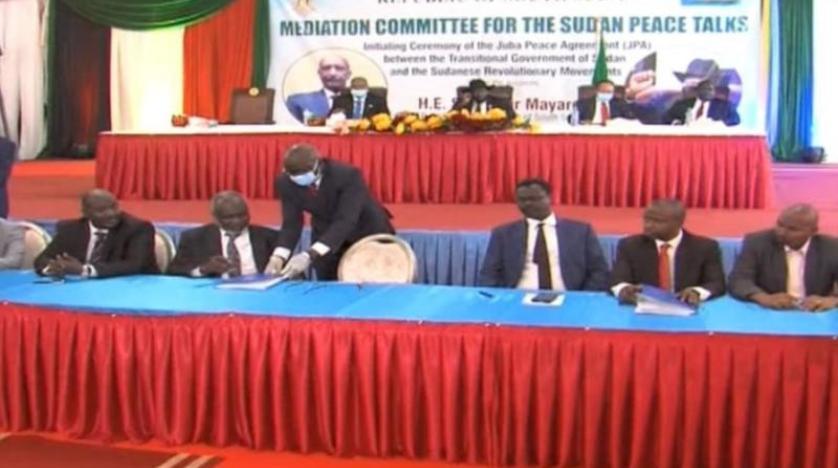اتفاق سلام تاريخي بين الحكومة السودانية والحركات المسلحة