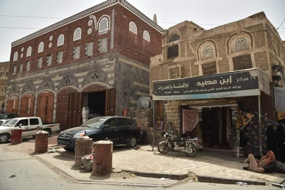 جماعة الحوثي تسمح بهدم منازل تاريخية في صنعاء القديمة وتحويلها إلي متاجر
