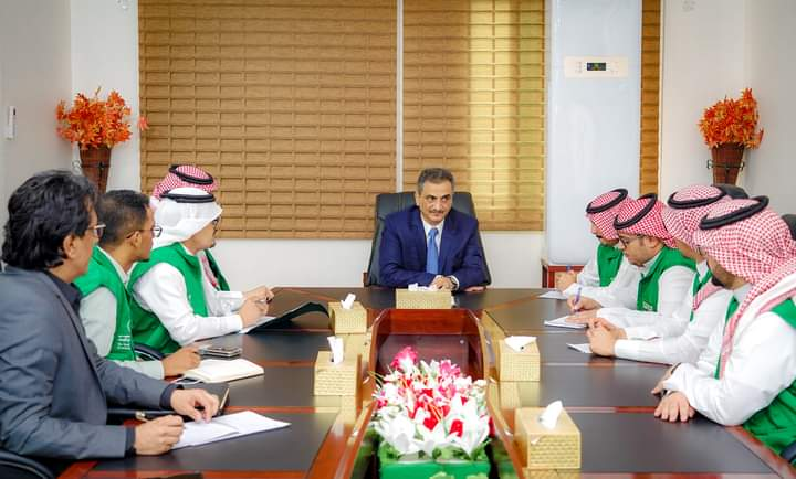 المحافظ لملس يبحث مع وفد البرنامج السعودي احتياجات مدينة عدن من المشاريع الطارئة والمستقبلية