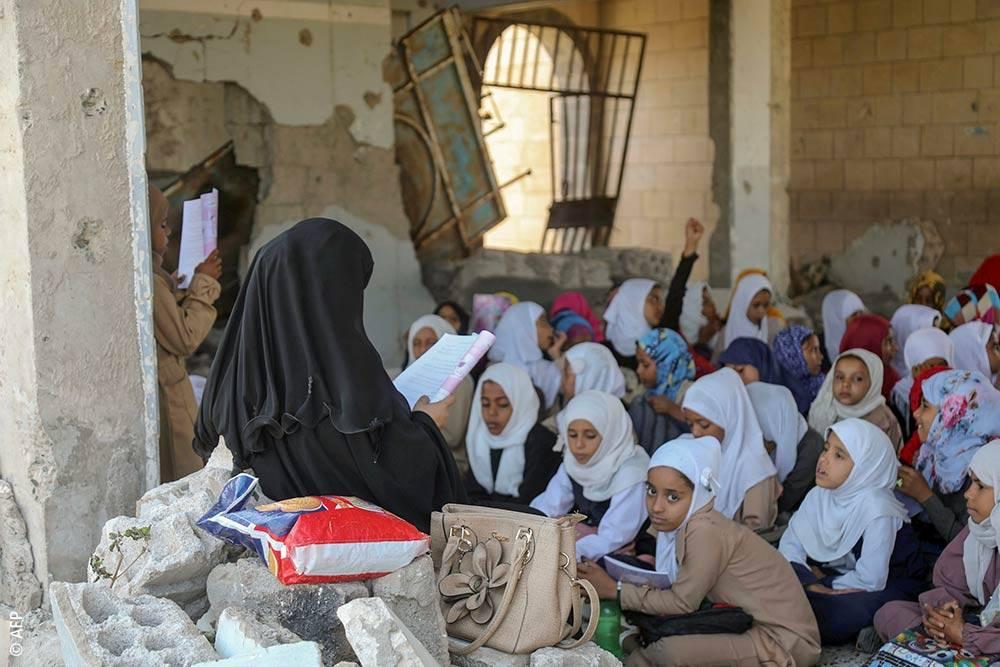 العملية التعليمية في اليمن على وشك التوقف