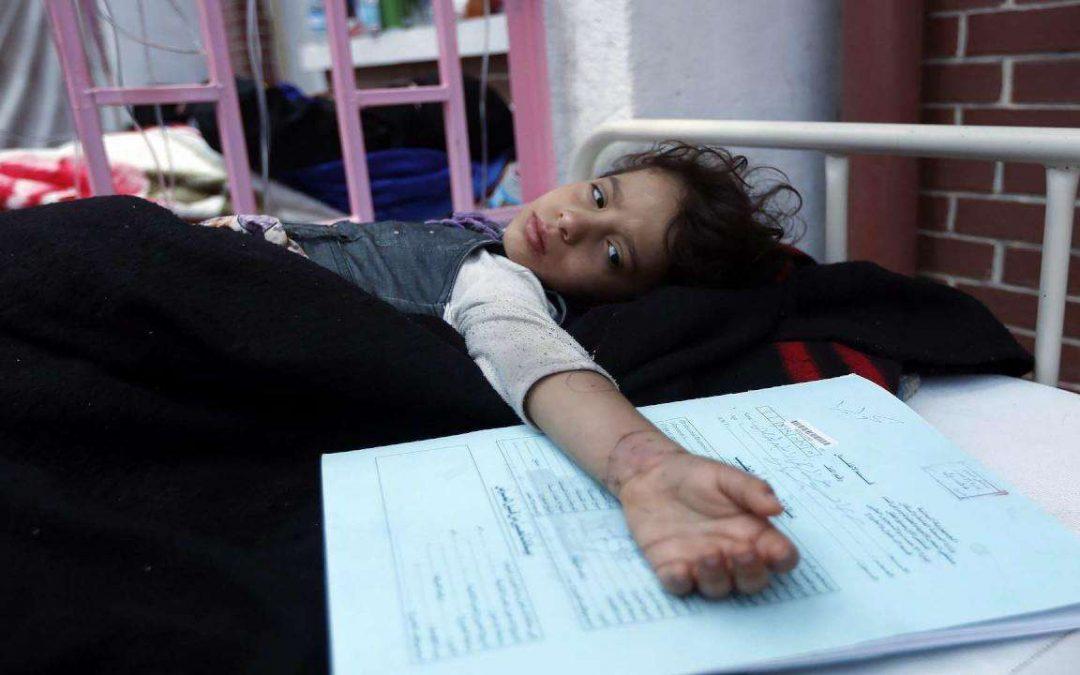 الصحة العالمية تعلن وفاة 116 حالة بالدفتيريا في اليمن خلال العام الماضي