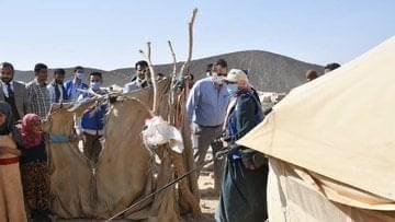 فريق الأمم المتحدة يتفقد مخيمات النازحين في مأرب ويتعهد بالعمل على مضاعفة حجم التدخلات الإنسانية