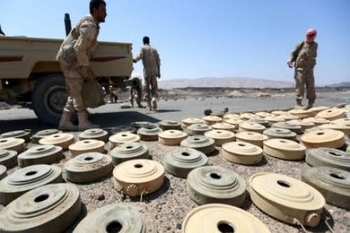الحكومة: جماعة الحوثي زرعت أكثر من مليون لغم نزع منها ما يزيد عن 200 ألف