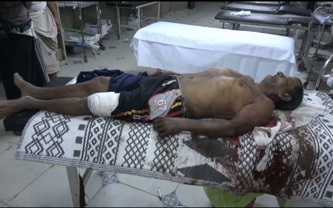 الحديدة.. مقتل مواطن وإصابة آخر بقصف لجماعة الحوثي